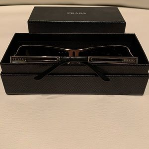 Prada Accessories - Genuine Prada Sunglasses - Chrome and Black